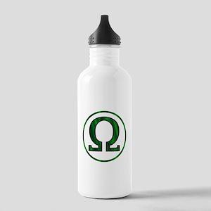 Omega Greek Letter Stainless Water Bottle 1.0L