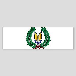 Special Air Service Tribute Bumper Sticker