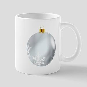 Silver Tree Decoration Mugs