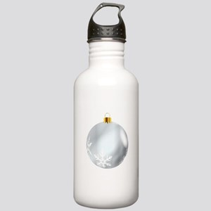Silver Tree Decoration Stainless Water Bottle 1.0L