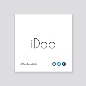iDab (Black) Sticker