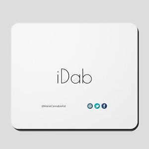 iDab (Black) Mousepad