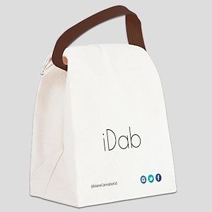 iDab (Black) Canvas Lunch Bag