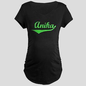 Anika Vintage (Lt Gr) Maternity Dark T-Shirt
