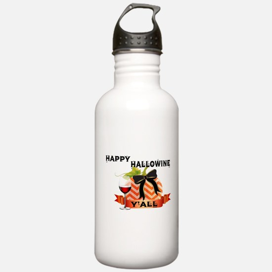 Happy Hallowine Y'all Water Bottle