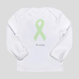 Mint Green: Strong Long Sleeve T-Shirt