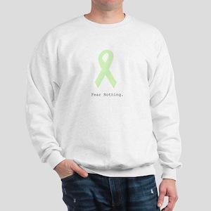 Mint Green: Fear Nothing. Sweatshirt