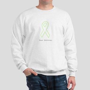 Mint Green Outline: Fear Nothing Sweatshirt