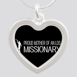 LDS: Proud Missionary Mother (Black) Necklaces
