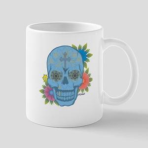 Sugar Skull Day of the Dead Mugs