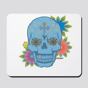 Sugar Skull Day of the Dead Mousepad