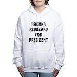 Ragnar Redbeard For President Women's Hooded Sweat