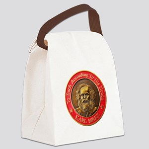 Karl Marx Canvas Lunch Bag