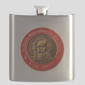 Karl Marx Flask