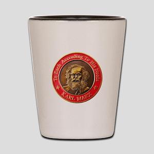 Karl Marx Shot Glass