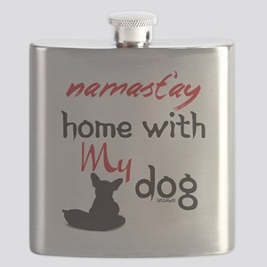 Namast'ay Home With My Dog Flask