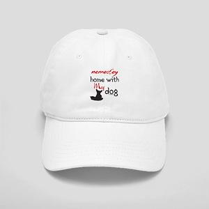 Namast'ay Home With My Dog Cap