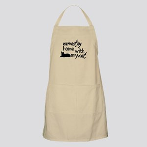 Namast'ay Home with My Cat Apron