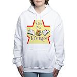 Viva La Livres Women's Hooded Sweatshirt