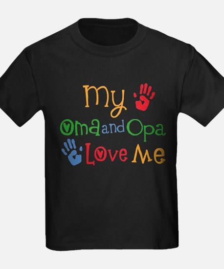 Oma and Opa Love Me T-Shirt
