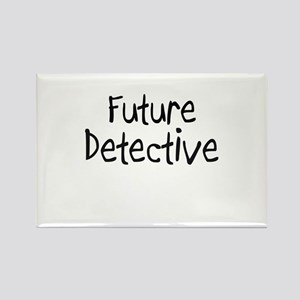 Future Detective Rectangle Magnet
