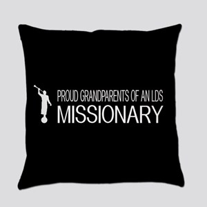 LDS: Proud Missionary Grandparents Everyday Pillow