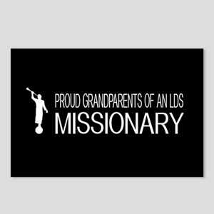 LDS: Proud Missionary Gra Postcards (Package of 8)