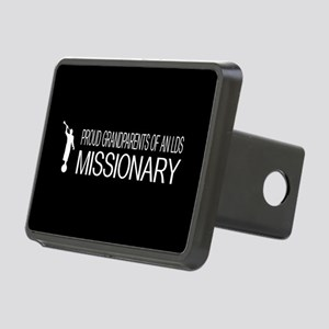 LDS: Proud Missionary Gran Rectangular Hitch Cover