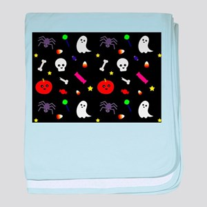 trick or treat baby blanket