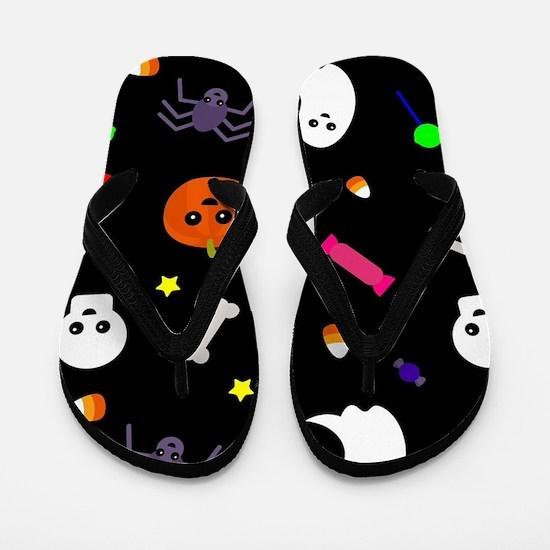 trick or treat Flip Flops
