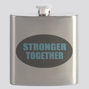 Hillary - Stronger Together Flask