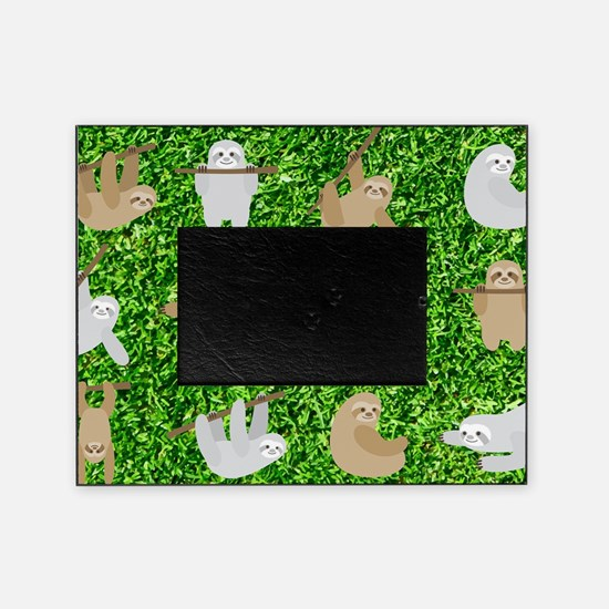 Cute Baby sloth Picture Frame