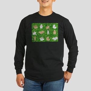 funny sloths Long Sleeve T-Shirt