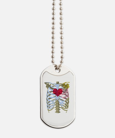 Unique Heart zombies Dog Tags