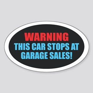 Garage Sales Sticker