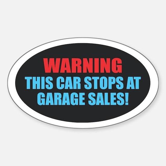 Garage Sales Decal