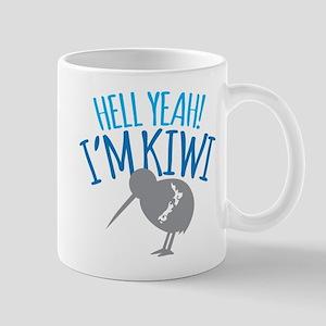 Hell yeah I'm kiwi! Mugs