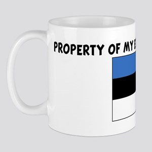 PROPERTY OF MY ESTONIAN BOYFR Mug