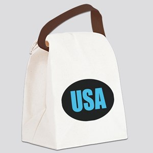 USA Canvas Lunch Bag