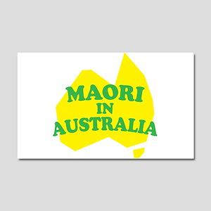 MAORI IN AUSTRALIA Car Magnet 20 x 12