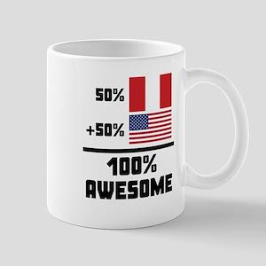 Awesome Peruvian American Mugs