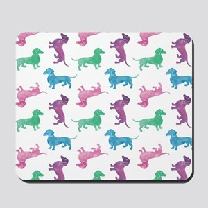 Raining Dachshunds Mousepad