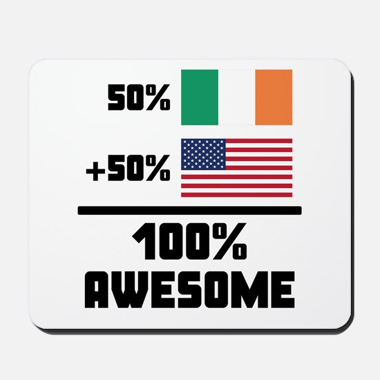 Awesome Irish American Mousepad