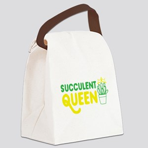 Succulent queen Canvas Lunch Bag