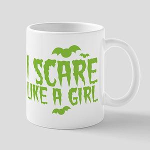 I scare like a girl Mugs