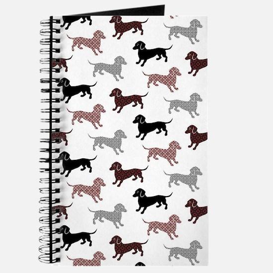 Cute Dachshund lover Journal