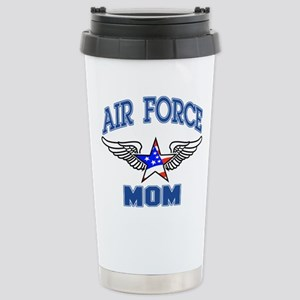 Airforce Mom Stainless Steel Travel Mug