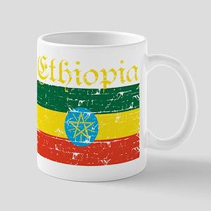 Ethiopian Flag designs Mugs
