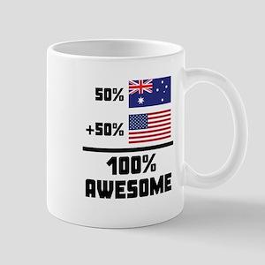 Awesome Australian American Mugs