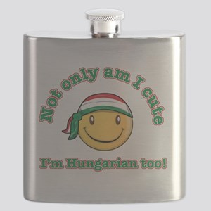 Not only am I cute Im Hungarian too! Flask